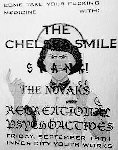 THE CHELSEA SMILE poster...